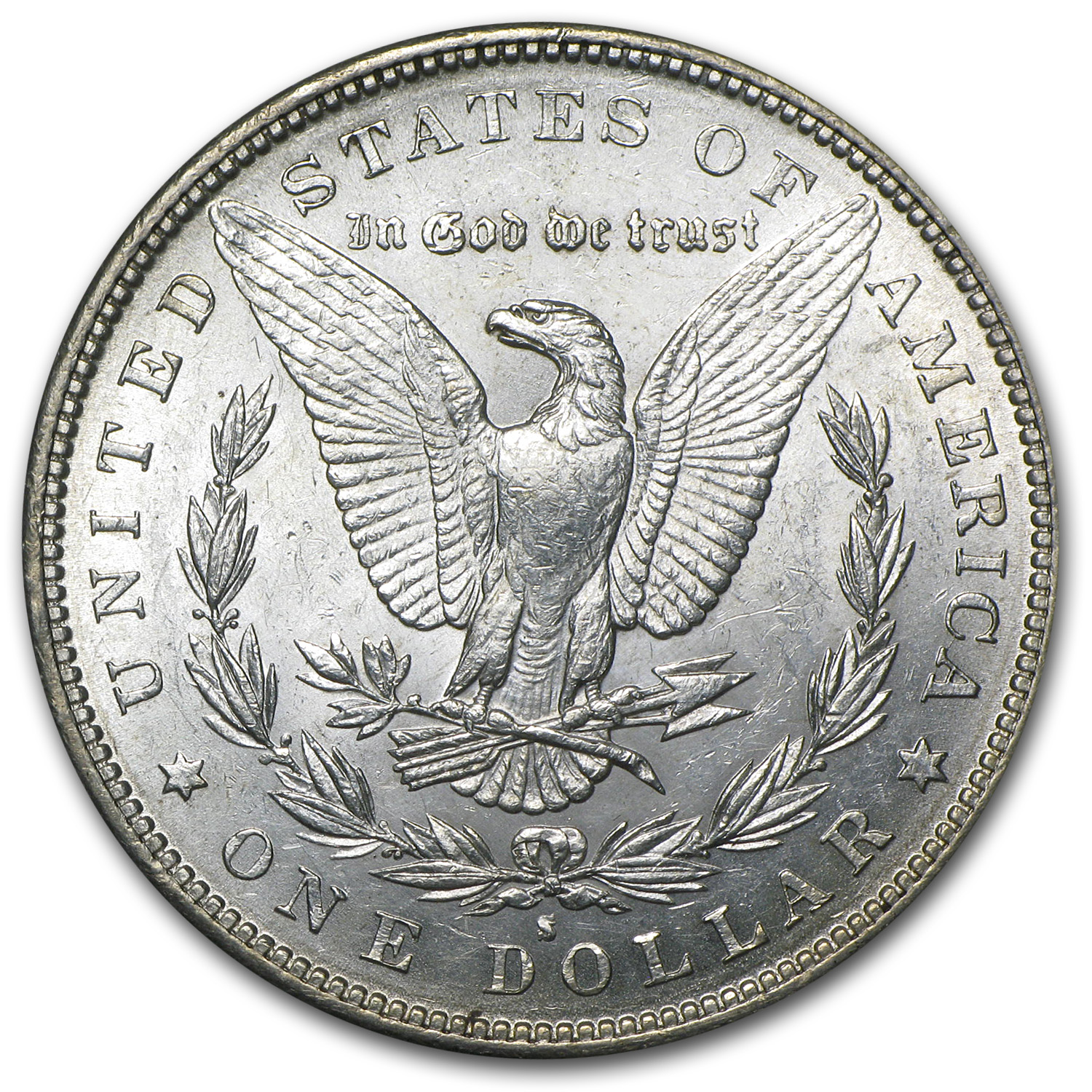 1884-S Morgan Dollar - Brilliant Uncirculated